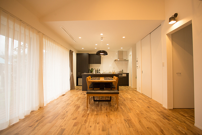 【R+house】家族が主役の回遊リラックス「 One Floor House」