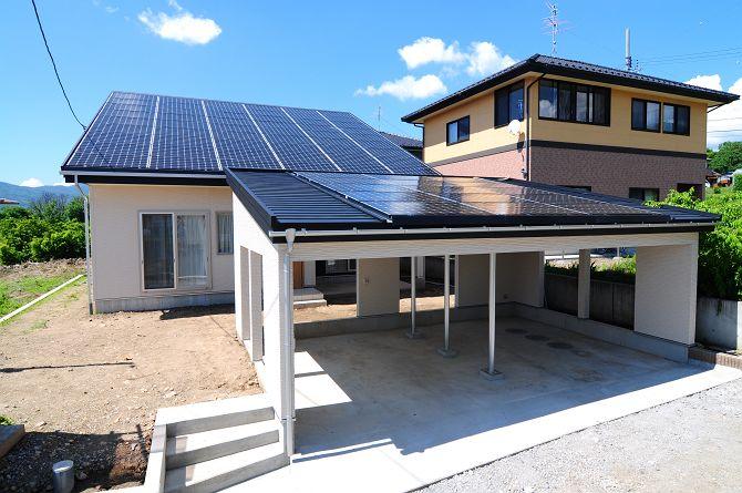 <ローン0円住宅>太陽光18.63kw搭載の家