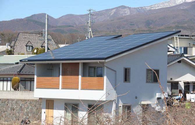 <ローン0円住宅>太陽光14.04kw搭載の家
