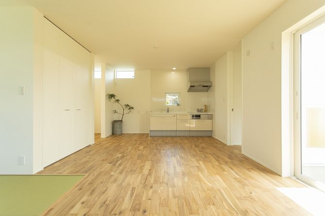 ストレスOFFでほど良い距離感の二世帯House
