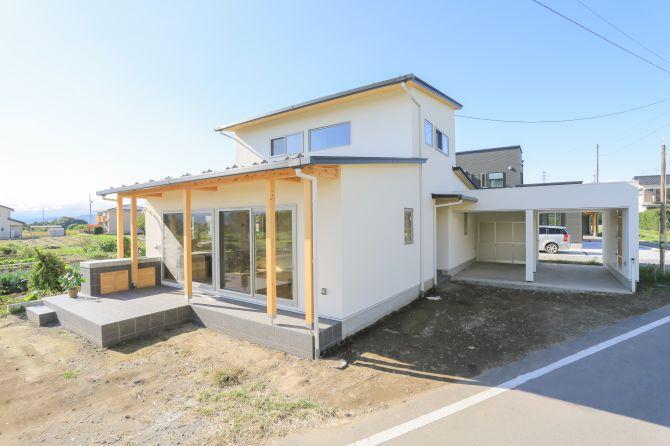 【新築】佐久市長土呂-R+house